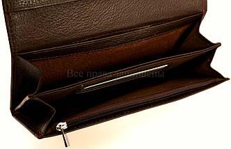 Женский кожаный кошелек кофейный Salfeite A-W58COFEE, фото 2