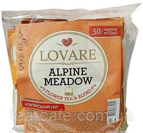 Чай Lovare Альпійський луг 50 пак.