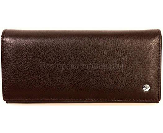 Женский кожаный кошелек кофейный Salfeite A-B150COFEE, фото 2