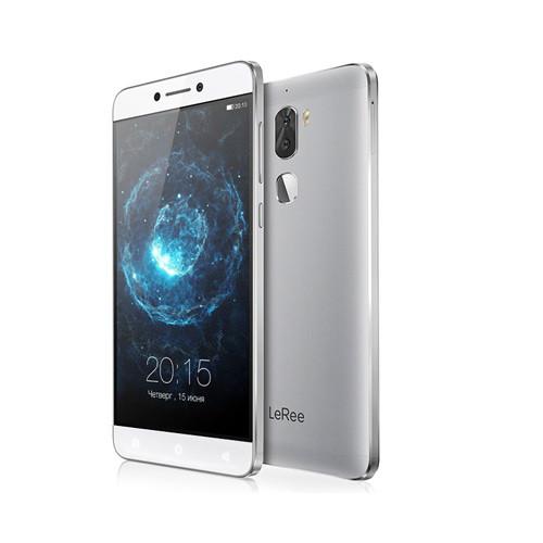 "Смартфон LeRee Le3 (C1-U02) 3/32 Silver, 13+13/8Мп, 5.5"" IPS, 4060mAh, 2sim, Snapdragon 652, Global LeTV Cool1"