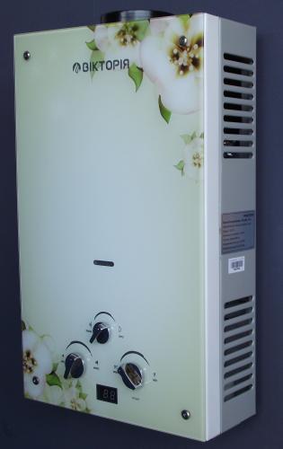 Газовая колонка Виктория  JSD 10 дисплей орхидея