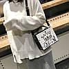Каркасна сумочка з заклепками, фото 4