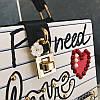 Каркасна сумочка з заклепками, фото 10