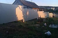 Забор из профнастила 1,8 м
