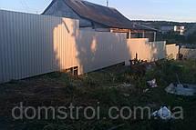 Забор из профнастила для частного сектора, фото 3