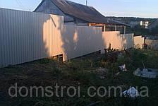 Забор из профнастила 1,5 м, фото 2