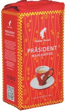 Кофе молотый Julius Meinl Prasident mahlkaffe 500 g