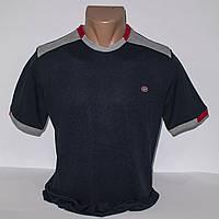 Мужская темно-синяя футболка Турция т.м. Piyera P24