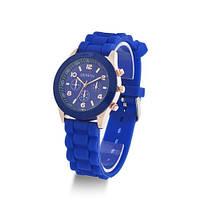 Geneva часы женские, наручные, силиконовые (реплика)