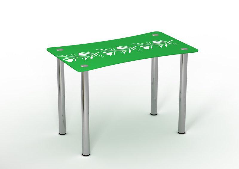 Стол обеденный стеклянный Вьюн 90х65 (Sentenzo TM)
