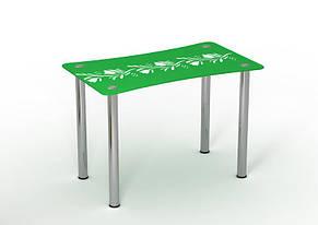 Стол обеденный стеклянный Вьюн 90х65 (Sentenzo TM), фото 2