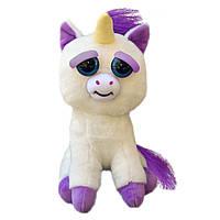 Интерактивная игрушка Feisty Pets Добрые Злые зверюшки Плюшевый Единорог Гленда 20 см (SUN0139), фото 1