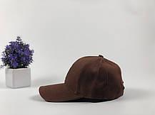 Кепка бейсболка Ediko коричневая, фото 2