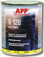Битумная масса для защиты APP для  консервации кузова автомобиля  чёрная, 1,3кг  050801