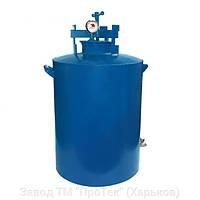 Автоклав бытовой HousePro-100 усиленный (100 пол литровых банок, сталь 3 мм, с краном)