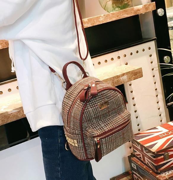 рюкзак мини женский