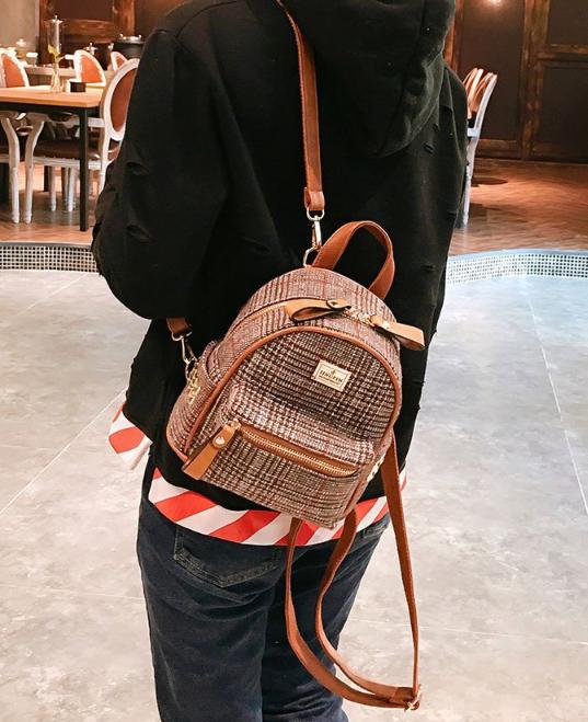 рюкзак женский мини