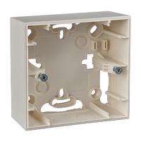 Рамка накладного монтажа 1-мод Слоновая кость Unica Schneider, MGU8.002.25