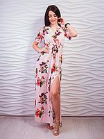 Легкий длинный платье- сарафан 42-48р ,доставка по Украине