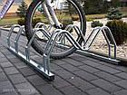 Велопарковка на 2 велосипеди Smile-2 Польща, фото 2