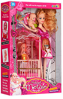 Кукла беременная с маленькой дочкой 5102 hn