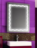 Зеркало с LED подсветкой настенное d65 600х800 мм Лед