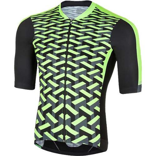 Велокофта ZeroRH+ vertigo jersey fluo, M L XL XXL (MD)