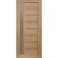 Дверь межкомнатная ОМиС Cortex deco 09 70 см дуб tabacco со стеклом