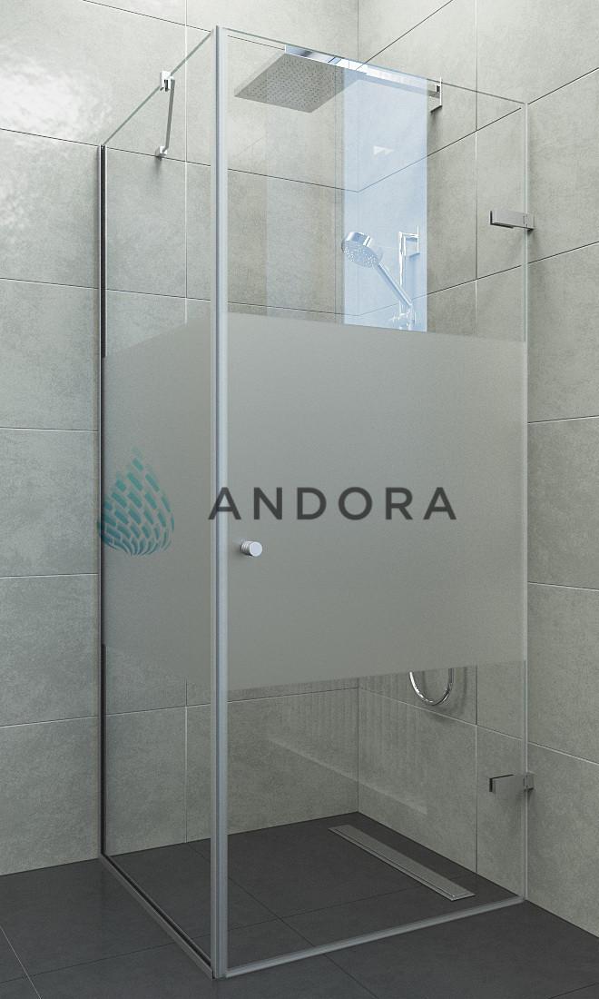 Душевая кабина Andora Breeze 80x80x200 стекло matzone L / R