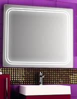 Зеркало с LED подсветкой настенное d66 900х800 мм Лед