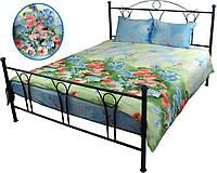 Полуторное постельное сатин (пододеяльник, 2 наволочки, простынь) ТМ Руно 1.137Summer flowers