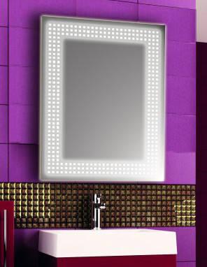 Зеркало с LED подсветкой настенное d68 600х800 мм Лед, фото 2