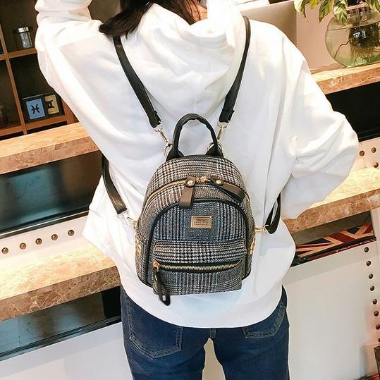 мини рюкзак чёрный
