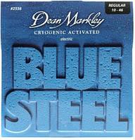 Струны для электрогитары Dean Markley Blue Steel Electric Strings 2556 Regular Gauge 10-46