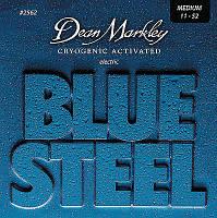 Струны для электрогитары Dean Markley 2562 Blue Steel Electric Medium 11-52