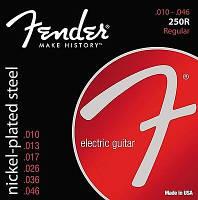 Струны для электрогитары Fender 250R Electric Guitar Strings 10-46