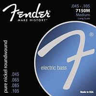 Струны для бас-гитары Fender 7150M Original Bass Guitar Strings 45-105