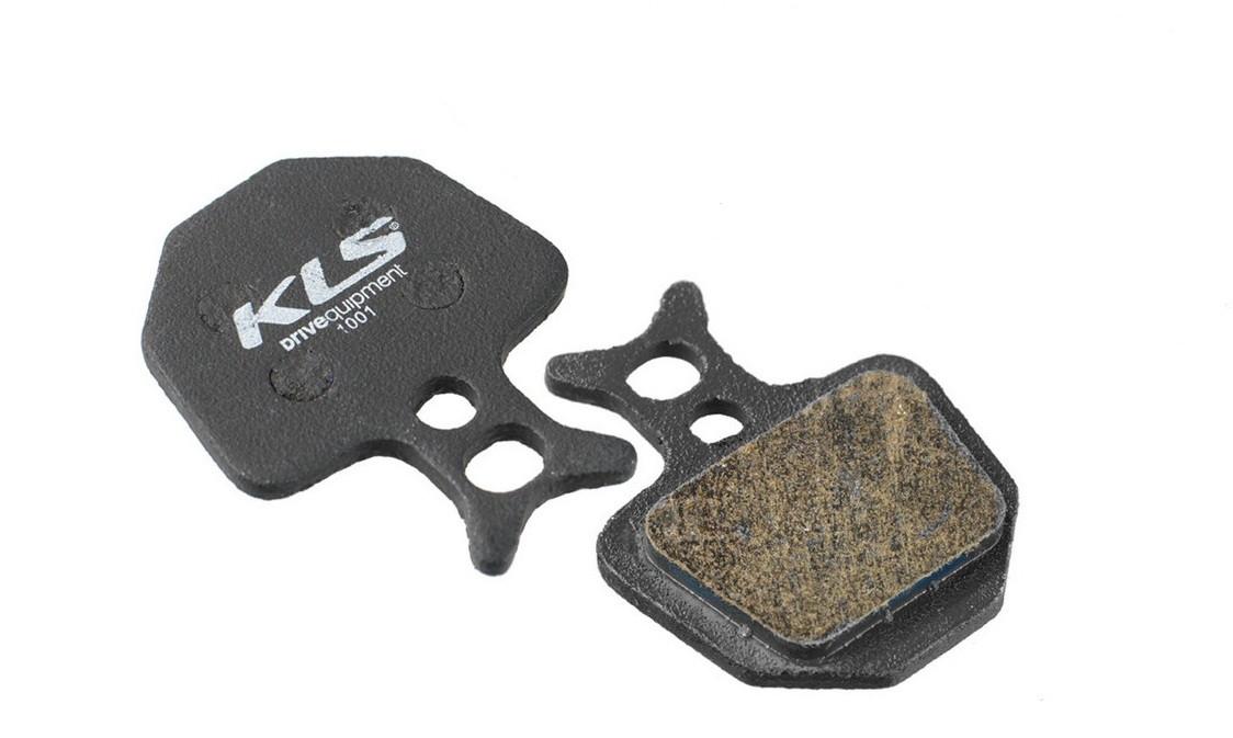 Гальмівні колодки KLS D-09 для Formula ORO органіка
