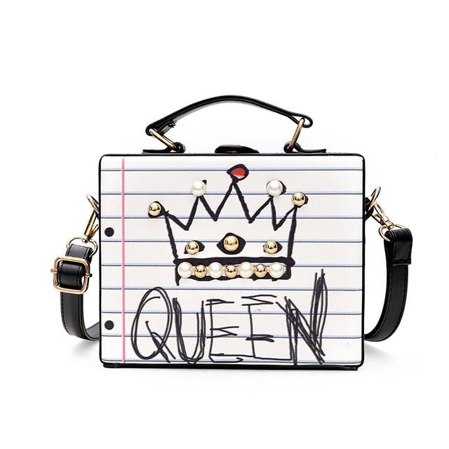 Каркасная сумочка Queen