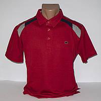 Мужская красная футболка Поло Турция т.м. Piyera P23