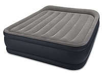 Двуспальная надувная кровать (152х203х42см) intex 64136 со встроенным электронасосом кк