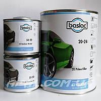 Baslac 20-24 Грунт наполнитель 2К, пропорция 4:1:1 (4л) в комплекте с отвердителем 50-20 (2x0,5л)