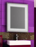 Зеркало с LED подсветкой настенное d71 600х800 мм Лед