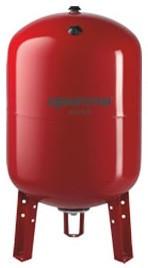 Гідрокомпенсатор для системи опалення AQUASYSTEM VRV 300 (300л верт ), 300 л. на ніжках