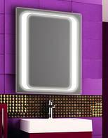 Зеркало с LED подсветкой настенное d78 600х800 мм Лед