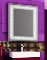 Зеркало с LED подсветкой настенное d79 600х800 мм Лед