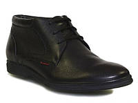 Ботинки зимние классические кожаные мужские Caman 0857-54