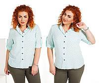 """Сорочка великих розмірів """"Софт"""" Dress Code, фото 1"""