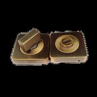Ручка поворотная WC-BOLT BK6/SQ-21WAB-11 античная бронза