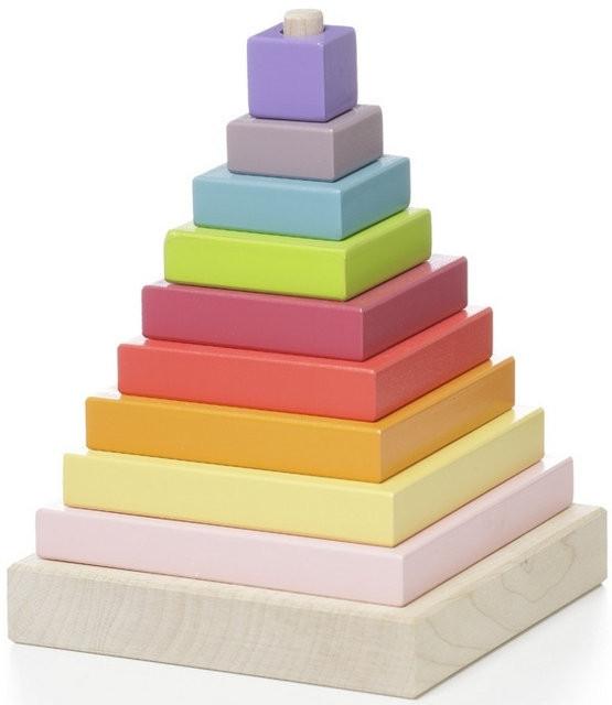 Пирамидка деревянная CUBIKA LD-5